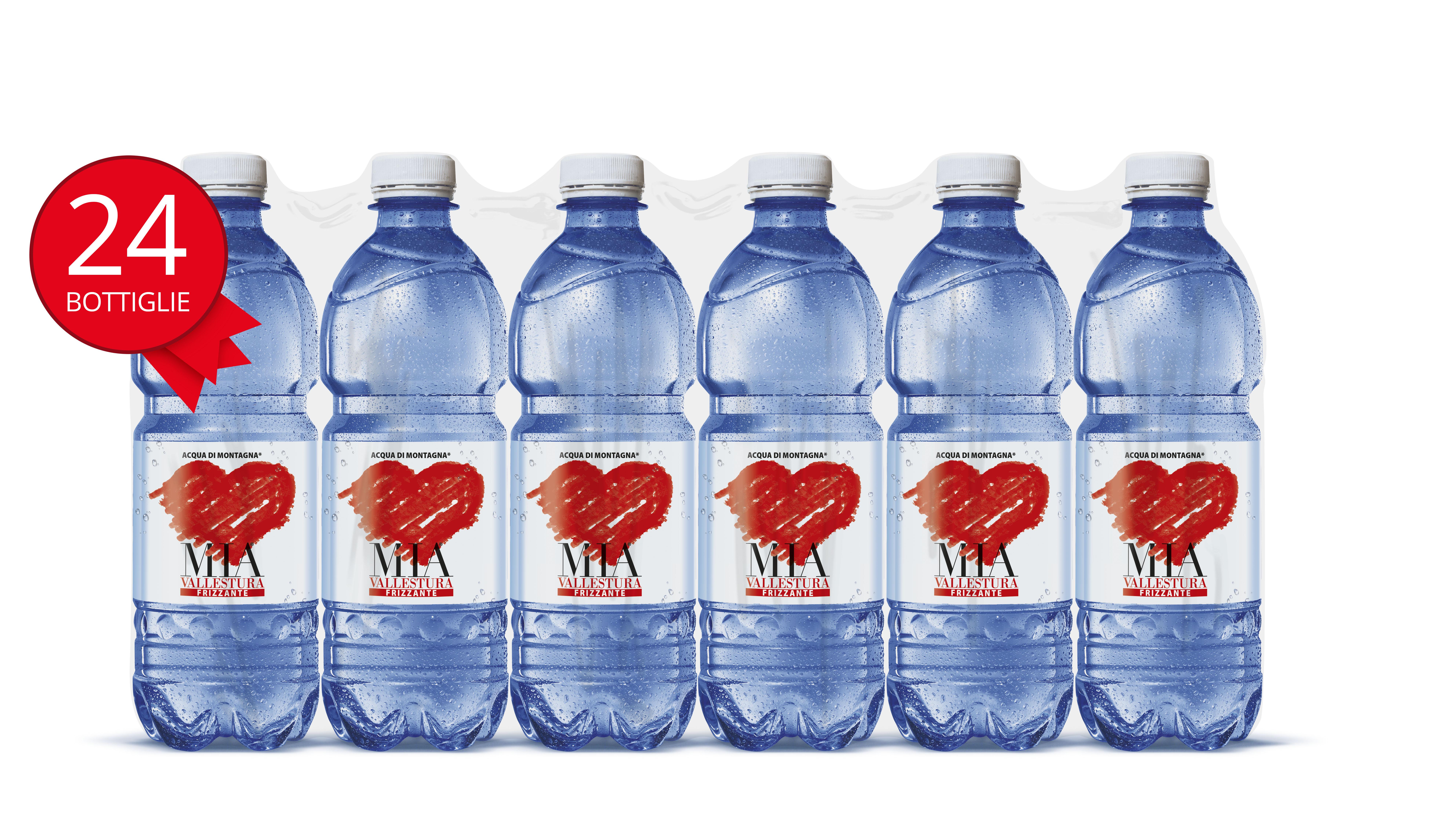 Acqua Mia Vallestura - Frizzante 0,5l 24 pezzi