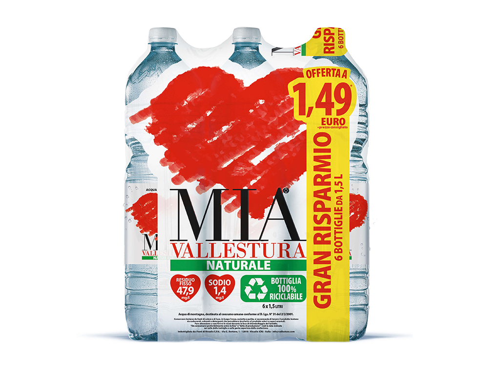 Acqua Mia Vallestura - Naturale 1,5l Value pack
